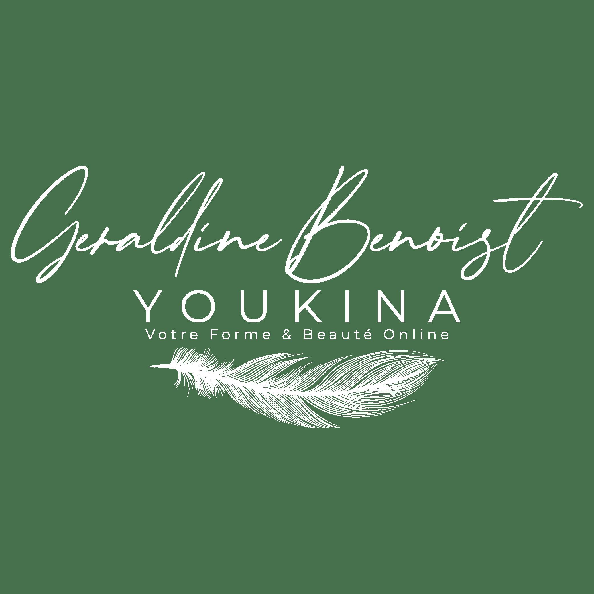 Logo Youkina Geraldinebenoist New03 Blanc